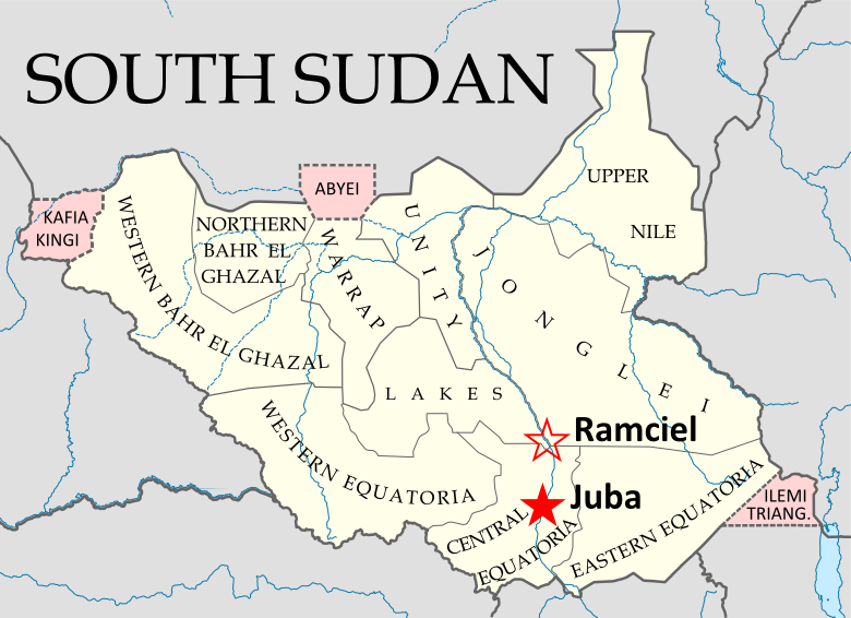 map of south sudan An Africanist Perspective