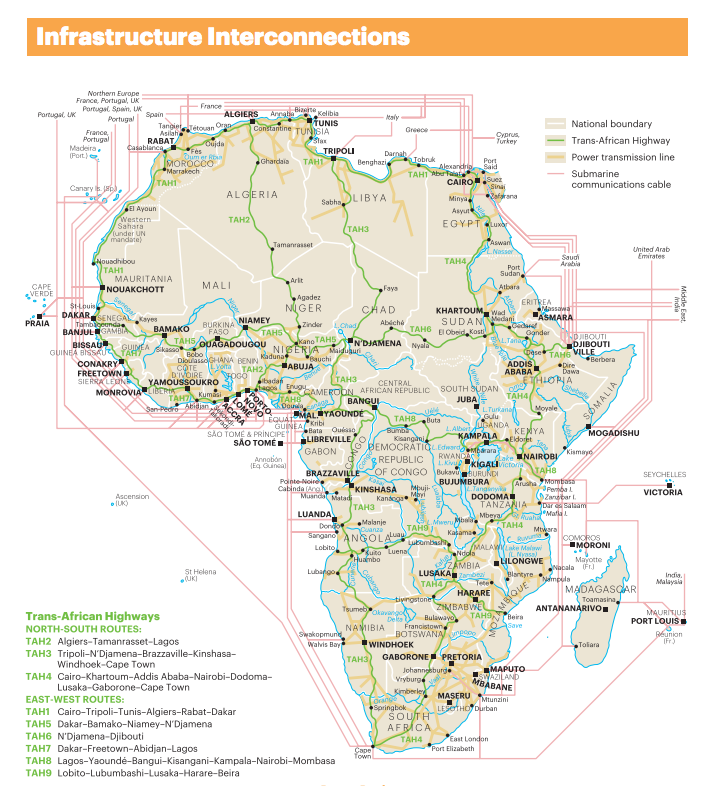Infrastructure Interconnections in Africa